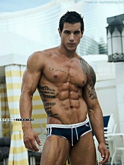 Ripped Muscle Hunk Alan Valdez | Daily Dudes @ Dude Dump