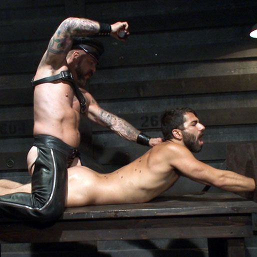 Rocco Steele and his slave boy | Daily Dudes @ Dude Dump