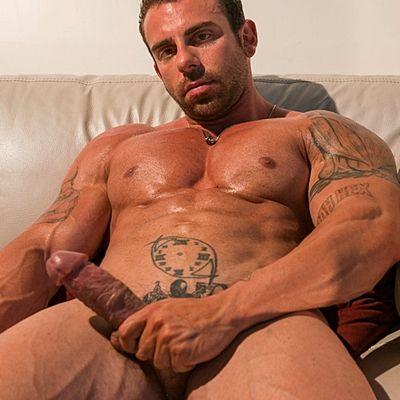 Rugged Handsome Xavier Uploads His Hot Cum | Daily Dudes @ Dude Dump