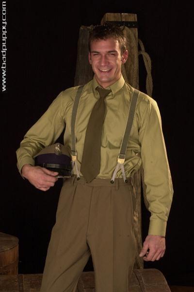 Russian Soldier Kajc takes off his uniform | Daily Dudes @ Dude Dump