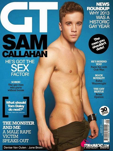 Sam Callahan for GAY TIMES   Daily Dudes @ Dude Dump
