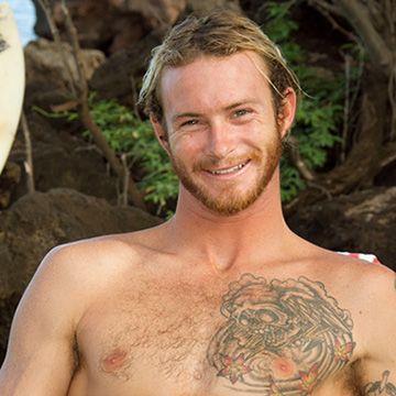 Scruffy Blond Surfer | Daily Dudes @ Dude Dump