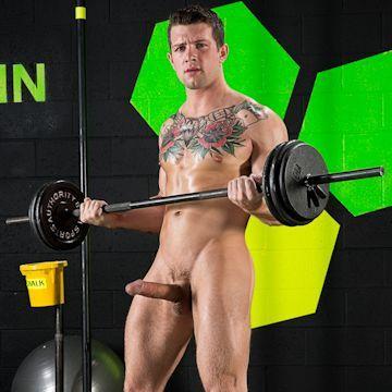 Sebastian Kross keeping fit   Daily Dudes @ Dude Dump