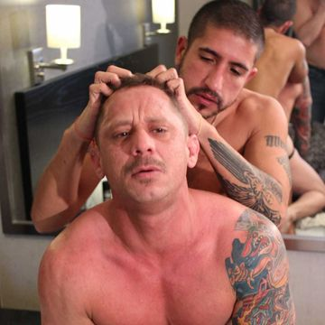 Sebastian Rio Gives Kyle Savage A Rough Raw Fuck | Daily Dudes @ Dude Dump