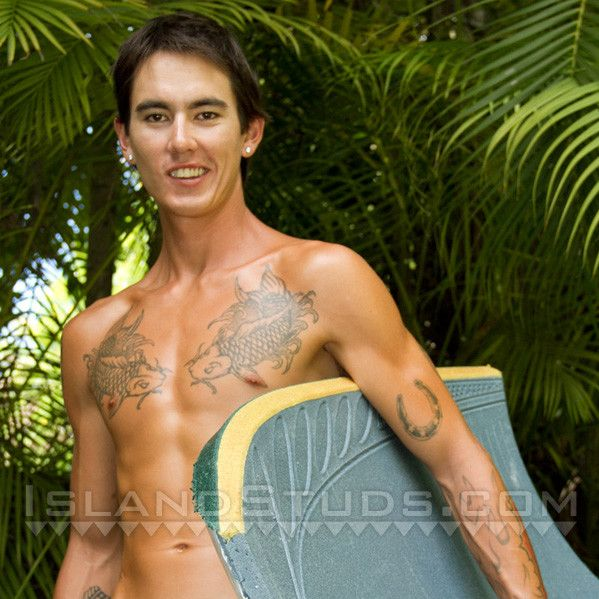 Sexy Hawaiian Surfer Cums Twice | Daily Dudes @ Dude Dump