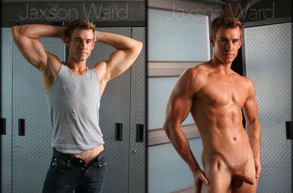 Sexy Jaxson Ward's Big Cumshot | Daily Dudes @ Dude Dump