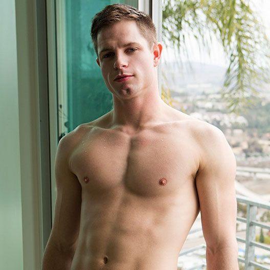 Sexy jock Dean jerks off | Daily Dudes @ Dude Dump