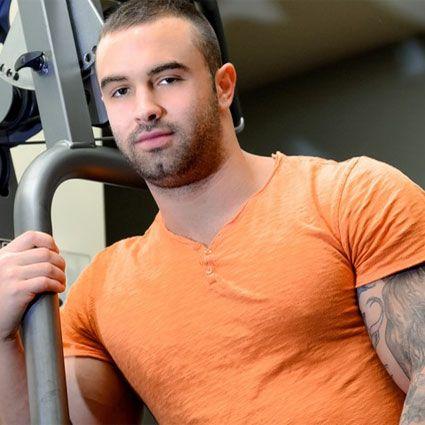 Sexy muscle hunk Calvin Pierce   Daily Dudes @ Dude Dump