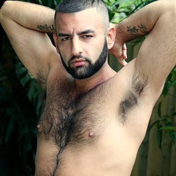 Sexy Uncut Hairy Hunk | Daily Dudes @ Dude Dump