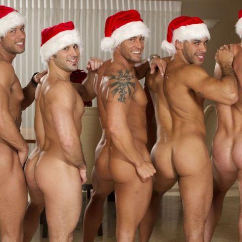 Six Sexy Santas | Daily Dudes @ Dude Dump
