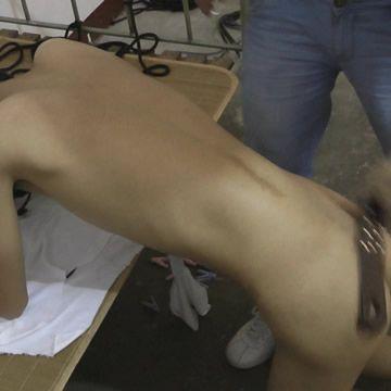 Slave Boy Ass Spank | Daily Dudes @ Dude Dump