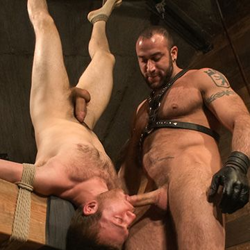 Slave Boy & his Hairy Master | Daily Dudes @ Dude Dump