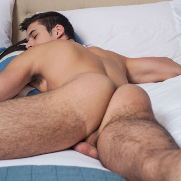 Sleeping booty — Logan Milano | Daily Dudes @ Dude Dump
