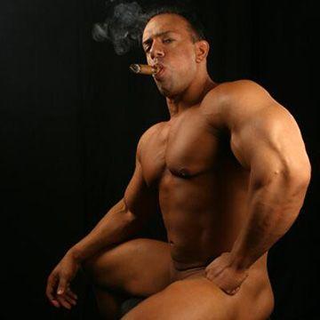 Smoking Hunks | Daily Dudes @ Dude Dump