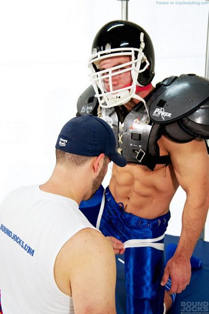 So You Want Some Gay Football Bondage Porn? | Daily Dudes @ Dude Dump