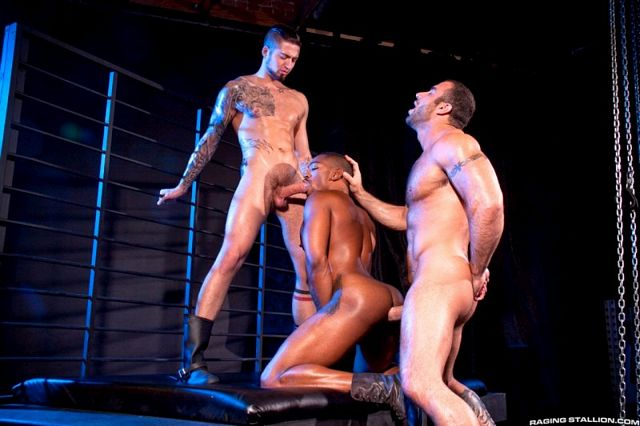 Spencer Reed and Troy Haydon tagteam Colin Black | Daily Dudes @ Dude Dump