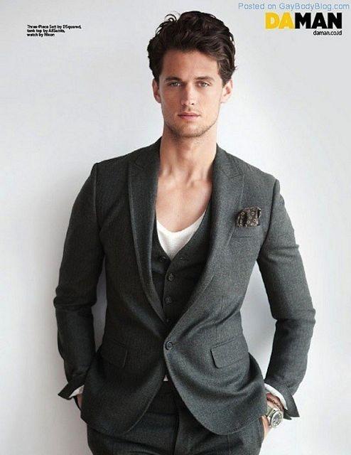 Sporty Fit Model Garrett Neff | Gay Body Blog | Daily Dudes @ Dude Dump