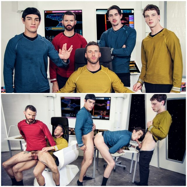Star Trek A Gay XXX Parody | Daily Dudes @ Dude Dump
