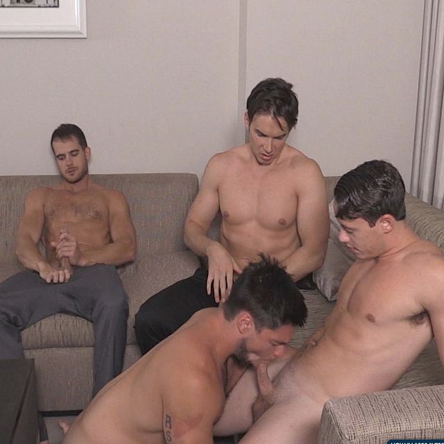 Str8 Bitch Boy Gets Fucked By His Horny Bros | Daily Dudes @ Dude Dump