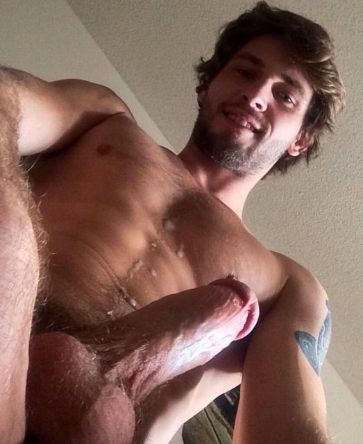 Straight guy cum shot pics, cum shots   Daily Dudes @ Dude Dump