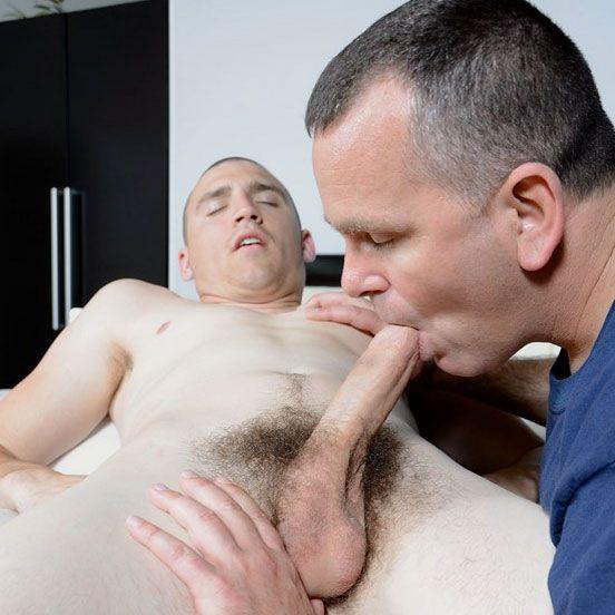 Straight marine Ty gets sucked   Daily Dudes @ Dude Dump