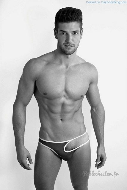 The Bulge Of Gorgeous Muscled Guy Jeremy Baudoin | Daily Dudes @ Dude Dump