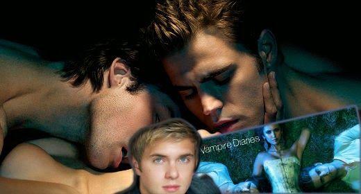 The Vampire Diaries gay!   Daily Dudes @ Dude Dump