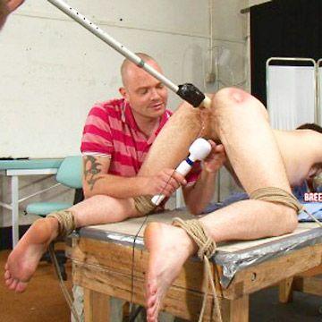 Torture by vibrator | Daily Dudes @ Dude Dump