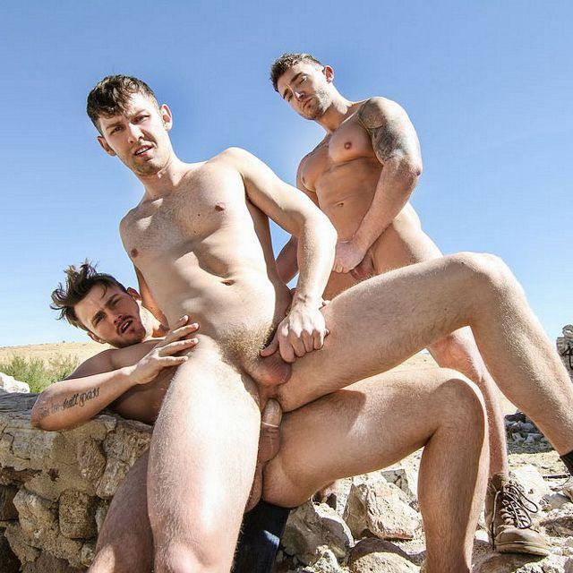 Trevor, Jacob and Jake fuck | Daily Dudes @ Dude Dump
