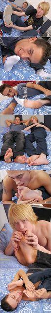 Twink Buddies Foot Play | Daily Dudes @ Dude Dump