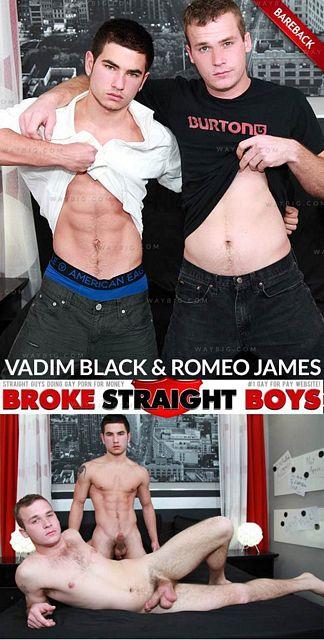 Vadim Black is practically shaking | Daily Dudes @ Dude Dump