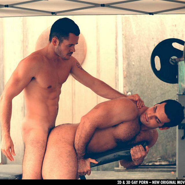Valentin Petrov fucks Marcus Ruhl in the gym | Daily Dudes @ Dude Dump