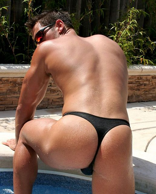 Wearing a thong gets Kip a pounding | Daily Dudes @ Dude Dump