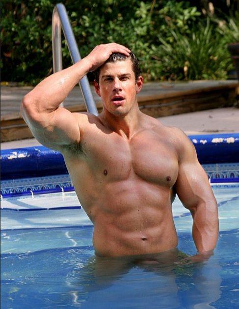 Zeb Atlas Invites You for a Swim | Daily Dudes @ Dude Dump